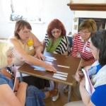 Talsu un Jelgavas nodaļu dalībnieces apvienojas kopējā projektā