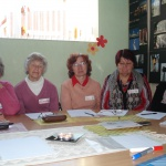 Leontīna Bērziņa (Olaine), Biruta Mežinska (Liepāja), Leonora Kanča un Helēna Siliņa (Varakļāni), Māra Junzeme (Rīga)