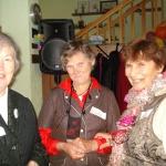 Ilze Laine kopā ar Jelgavas nodaļas pārstāvēm