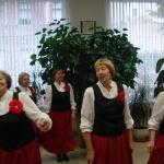 """LSIA """"Aspazija"""" dāmas dejas varā"""
