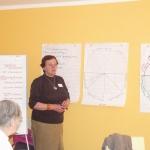 """Lita Zūkere no Siguldas nodaļas prezentē """"Dzīves kvalitātes apli''"""