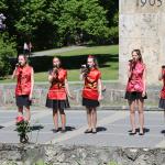 Ķīniešu mēle arī dziesmā - skaistums ir daudzveidībā! Foto Andris L.