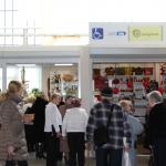 """Salona """"Saulgrieze"""" apmeklētāji. Foto: M. Vilemsons"""
