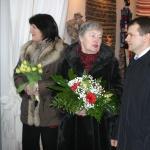 """Deputāte T. Lukina, """"Aspazija"""" vadītāja I.Laine, Centrāltirgus valdes priekšsēdētājs A.Abrāmovs"""