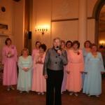 Latvišu Biedrības nama saimnieces - Māras Kokinas atzinības vārdi sirsnīgajam koncertam