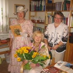 Aktrise Vera Gribača mūsu bibliotēkā