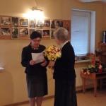 """Nodibinājuma """"Borisa un Ināras Teterevu fonds"""" pārstāve Ieva Ernštreite"""