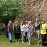Lietuvas pensionāru biedrības delegācija