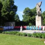Senioru deju dejotāji no Latvijas un Igaunijas