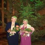 2011. gada Labās Zvaigznes ieguvējas. No kreisās Inguna Barinova un Eleonora Lazdiņa
